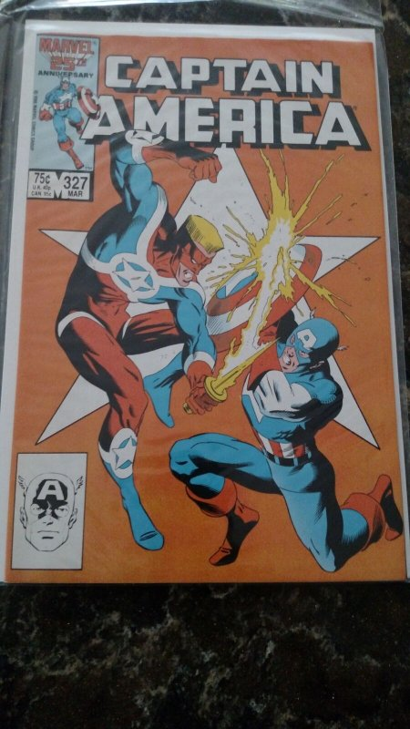 Captain America #327 (Marvel,1986) Condition NM
