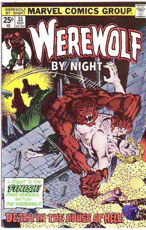 Werewolf by Night #35 (Nov-75) VF High-Grade Werewolf