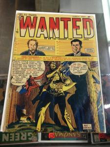 Wanted Comics #25 VG (Orbit-wanted Mar. 1950) Pre Code Crime