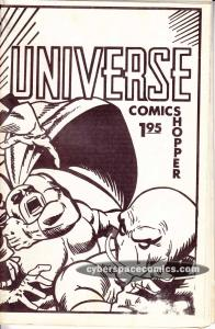 Universe Comics Shopper #71 VF- vintage catalog - alan davis cover? 1984