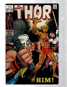 Mighty Thor # 165 VF/NM Marvel Comic Book Loki Odin Asgard Sif Avengers Hulk RB8