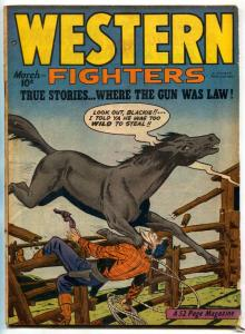 Western Fighters Vol 2 #4 1948-Golden Age Comic VG