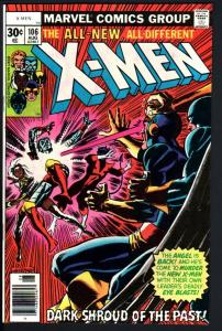 X-MEN #106--HIGH GRADE VF-MARVEL BRONZE AGE-old x-men