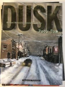 DUSK Bk. 1: Poor Tom by Marazano & de Metter (2002 Hardcover) Humanoids
