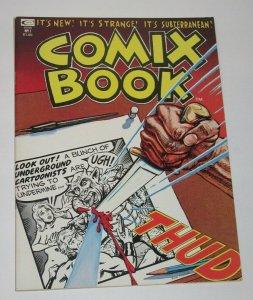Comix Book #1 1974 Marvel Magazine Underground Comix VF/NM