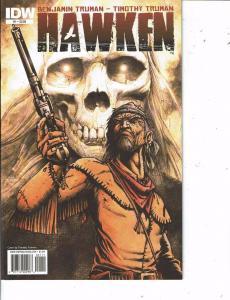 Lot Of 2 Comic Books IDW Hawken #1 and #2 Batman Superman MS12