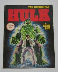 Incredible Hulk Softcover TPB Trade Paper Back 1978 Fireside Books FN