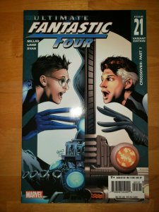 Ultimate Fantastic Four #21 (Marvel 2005) Land Variant 1st Marvel Zombies NM