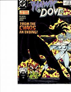 Lot Of 2 DC Comic Books Hawk & Dove #5 and Omega Men #36 Batman  ON3