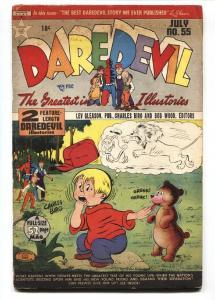 DAREDEVIL COMICS #55 1949  LEV GLEASON PUBS BIRO MAURER VG