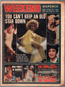Weekend 5/28/1969-Ginger Rogers-Dorothy Lamour-pin-up feature-P