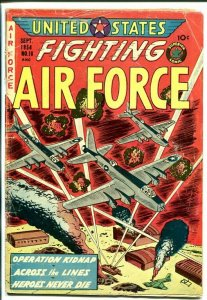 UNITED STATES FIGHTING AIR FORCE #10-GRAPHIC VIOLENCE-1954-vg