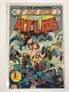 FIRST ISSUE SPECIAL 1 VERY FINE ATLAS BY KIRBY COMICS BOOK