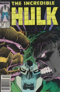 Incredible Hulk, The #350 (Mark Jewelers) FN; Marvel   save on shipping - detail