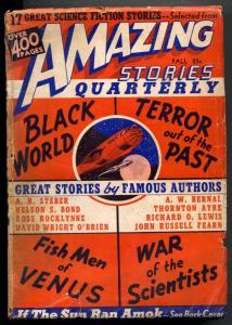 Amazing Stories Quarterly Pulp Fall 1940- Fish Men of Venus