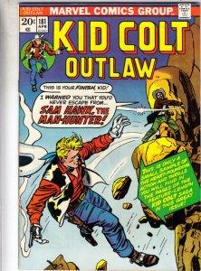 Kid Colt Outlaw #181 (Apr-74) FN/VF+ High-Grade Kid Colt