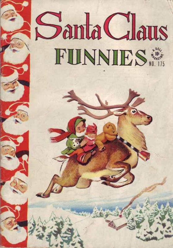 Four Color #175 (Jan-47) VG/FN Mid-Grade Santa Claus, Rudolph the Red Nosed R...