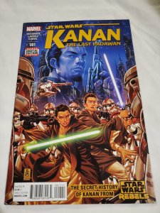 Star Wars Kanan 1 Near Mint  Cover by Mark Brooks