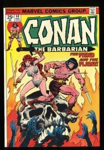 Conan The Barbarian #44 VF- 7.5 Marvel Comics