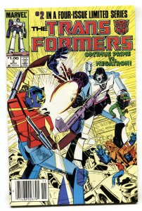 TRANSFORMERS #2 comic book 1984  Second issue Marvel  NEWSSTAND