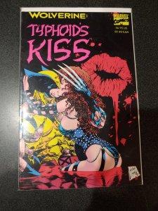 Marvel Comics Wolverine Typhoids Kiss tb