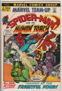 Marvel Team-Up #2 (May-72) NM Super-High-Grade Spider-Man