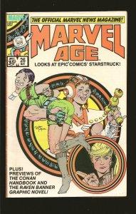 Marvel Comics Marvel Age #26 (1985)