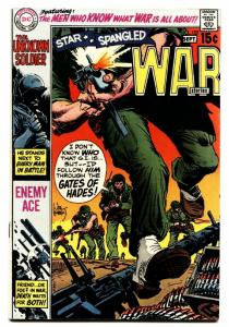 STAR SPANGLED WAR STORIES #152 comic book 1970 DC ENEMY ACE STORY VF