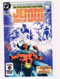 Jemm Son Of Saturn #3 VF DC Bronze Age Origin Issue Comic Book Nov 1984 DE45