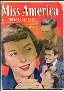 Miss America Vol 7 #20 1949-Marvel-photo cover-Patsy Walker-romance-GOOD MINUS