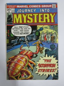 JOURNEY INTO MYSTERY Vol.2 #7 FINE (Marvel, Oct 1973) Kirby, Ditko, Lee