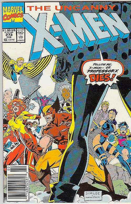 X-Men #273 (Feb-91) NM- High-Grade X-Men
