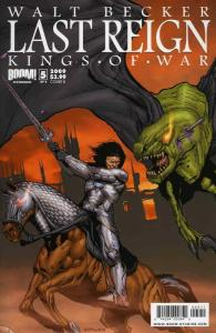 Last Reign #5B FN; Boom! | save on shipping - details inside