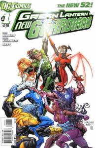 Green Lantern: New Guardians #1 VF/NM; DC | save on shipping - details inside