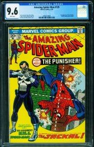 AMAZING SPIDER-MAN #129-1st appearance PUNISHER-CGC 9.6 MARVEL KEY 2093213004