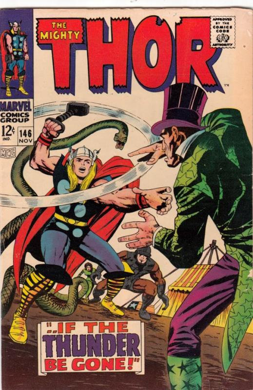 Thor, the Mighty #146 (Nov-67) VG/FN+ Mid-Grade Thor