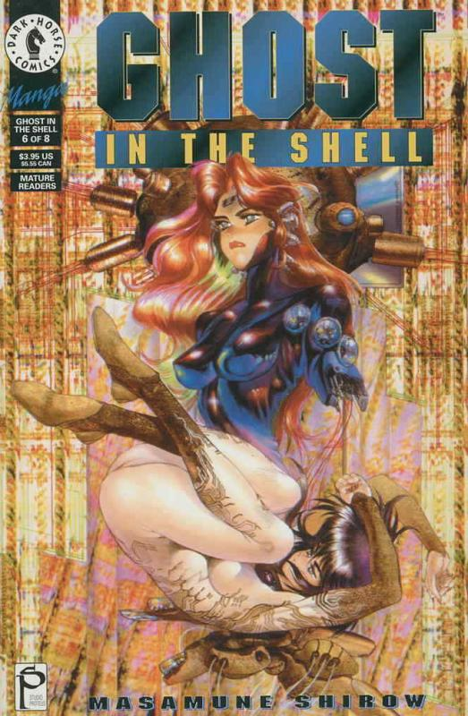Ghost in the Shell #6 VF/NM; Dark Horse | save on shipping - details inside