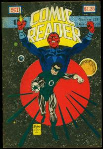 Comic Reader #175 1979- Fanzine- Green Lantern cover VG