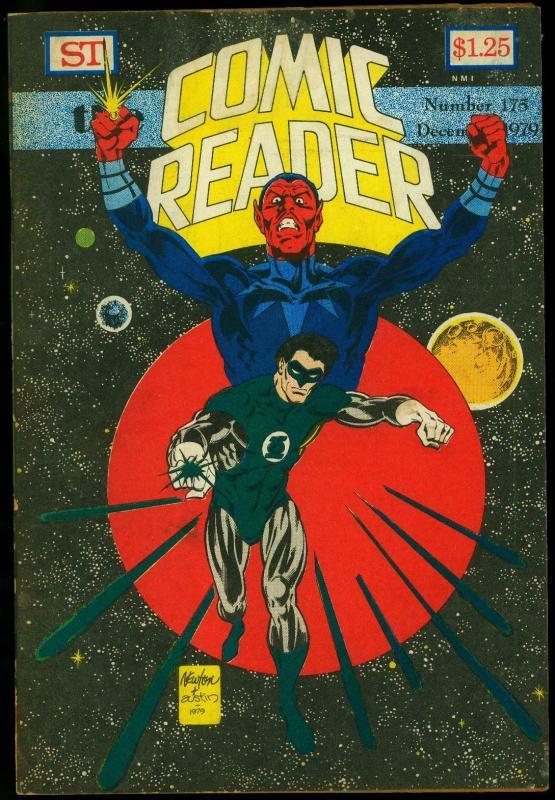Comic Reader #175 1979- Fanzine- Green Lantern cover VG
