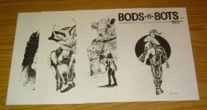 Bods-n-Bots Portfolio by Mike Roberts - signed - bad girls 1989 (#328 of 500)