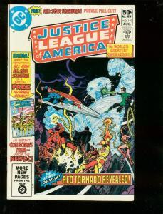 JUSTICE LEAGUE OF AMERICA #193 1981-DC COMICS-ALL-STAR  NM