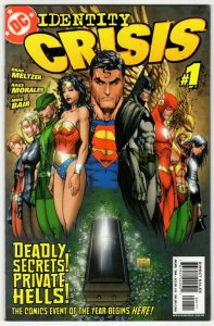 IDENTITY CRISIS #1 (VF+) No Resv! 1¢ Auction! See More!!!