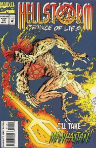 Hellstorm: Prince of Lies #14 FN; Marvel | save on shipping - details inside