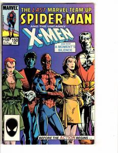 Marvel Team Up # 150 FN/VF Comic Book Spider-Man X-Men Avengers Hulk Thor J89