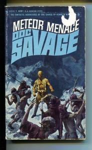 DOC SAVAGE-METEOR MENACE-#3-ROBESON-JIM AVIATI COVER-G G