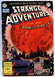 STRANGE ADVENTURES #2 1950 DC Science Fiction-Kirby-Virgil Finlay