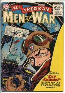 ALL AMERICAN MEN OF WAR #33-1956-WWII-DC-SILVER AGE-KUBERT-GRANDENETTI-vg+