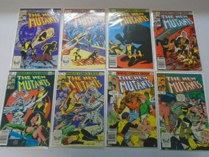 New Mutants lot 67 different #1-100 avg 8.0 VF (1983-91 1st Series)