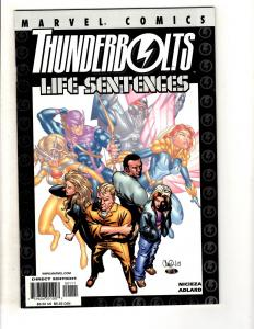 5 Thunderbolts One Shots #1 Life Sentences Measures Point Madness Incident  MF17