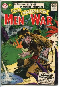 ALL-AMERICAN MEN OF WAR #45-1957-WWII-DC-SILVER AGE-BATTLE COVER-fn